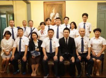 สำนักศิลปะและวัฒนธรรม ได้ต้อนรับคณาจารย์และผู้บริหารจาก Yunnan Engineering Vocational College