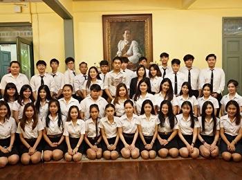 สำนักศิลปะและวัฒนธรรม ได้ต้อนรับอาจารย์สุพัตรา ปราณี และนักศึกษาจากวิทยาลัยนวัตกรรมและการจัดการ หลักสูตรบริหารธุรกิจบัณฑิต สาขาวิชาการจัดการคุณภาพ