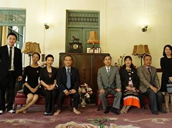 ต้อนรับคณะผู้บริหารจาก Haikou University of Economics ประเทศสาธารณรัฐประชาชนจีน