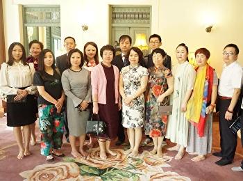 สำนักศิลปะและวัฒนธรรมได้ต้อนรับ คณะผู้บริหารสถาบันการศึกษาจากประเทศสาธารณรัฐประชาชนจีน จำนวน 28 ท่าน