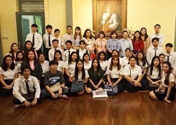 สำนักศิลปะและวัฒนธรรม ได้ต้อนรับคณะอาจารย์ เจ้าหน้าที่ และตัวแทนนักศึกษา จากคณะวิทยาการจัดการ จำนวน 40 คน ตามโครงการ