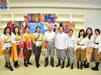 นำทีมบุคลากร เดินทางไปเผยแพร่ศิลปวัฒนธรรมและจัดกิจกรรม Workshop งานฝีมือให้กับนักศึกษาของ University of East Asia (UEA) ประเทศญี่ปุ่น