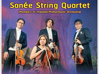 """ต้องมนต์ """"เสน่ห์"""" Sanèe String Quartet ในงาน Night at the Museum"""