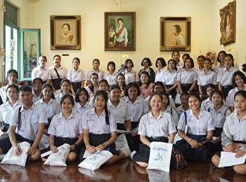 Students and Teacher from Triam Udom Suksa School of South visited SSRU's Museum