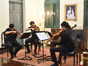 Pictures collection from Classical performance by Sanée String Quartet,