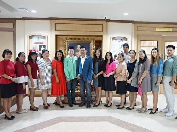25 December 2018, Anantachai Aeka, the Director along with the Deputy of Directors, and the other officers of the Office Arts and Culture gave the new year gifts