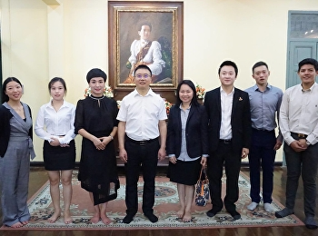 The executives and teachers from Jianyang Vocational Senior High School, China Visited Sai Suddha Nobhadol Building Museum