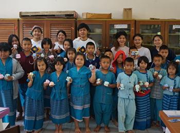 OAC and Cultural Creative Society Club held Volunteer Activity at Pingluang Shcool, Nan