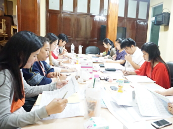 OCA held the second personnel meeting on 14th February