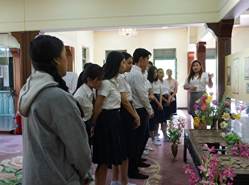 International college students learned the history of SSRU