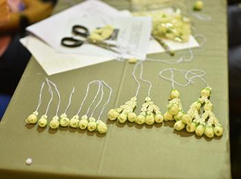 ผลงานนักศึกษา จากโครงการพัฒนานักศึกษาตามอัตลักษณ์สวนสุนันทา
