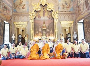 SSRU Joins Monk Ordination Ceremony