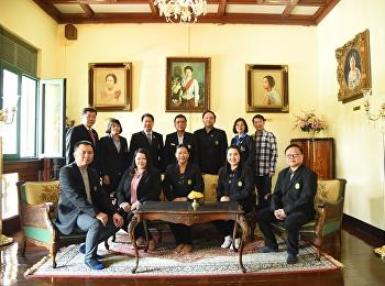 คณะอาจารย์จากประเทศฟิลิปปินส์เยี่ยมชมพิพิธภัณฑ์อาคารสายสุทธานภดล