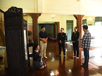 Committees of Faculty Senate of CRRU Visits Sai Suddha Nobhadol Building Musuem