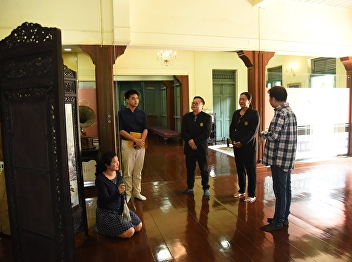 Committees of Faculty Senate of CRRU Visits Sai Suddha Nobhadol Building Musuem