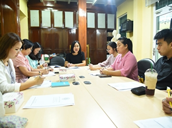 OAC Holds the Monthly Personnel meeting