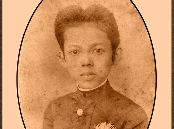 His Royal Highness Prince Yugala Dighambara, Prince of Lopburi  when he studied at Europe in 1897.