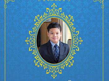 Love Live the Prince On April 29th, 2021 was the auspicious occasion birthday anniversary of H.R.H. Prince Dipangkorn Rasmijoti.