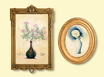 """""""Time's Journal: The Flowers in Paintings"""" Part VIII"""