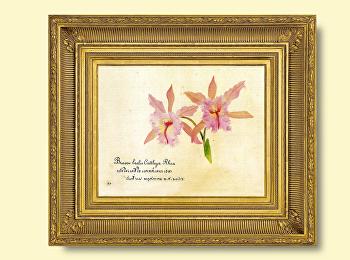 """""""บันทึกกาลเวลา ดอกไม้ในภาพเขียนสีน้ำ"""""""