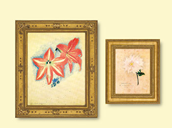 """""""Time's Journal: The Flowers in Paintings"""" Part XI"""