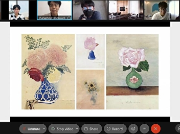 OAC Disseminates Intangible Cultural Heritage, Watercolor Flower Paintings to Performing Arts Students
